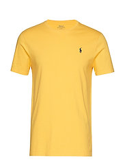 Custom Slim Crewneck T-Shirt - CHROME YELLOW