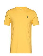 Custom Slim Fit Cotton T-Shirt - CHROME YELLOW