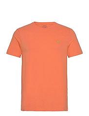 Custom Slim Crewneck T-Shirt - CLASSIC PEACH/C53