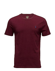 Custom Slim Crewneck T-Shirt - CLASSIC WINE