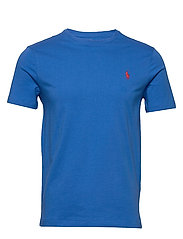 Custom Slim Crewneck T-Shirt - COLBY BLUE