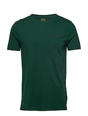 Custom Slim Crewneck T-Shirt - COLLEGE GREEN/SIG