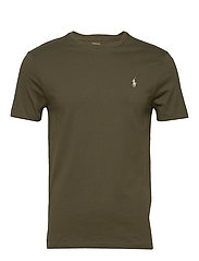 Custom Slim Crewneck T-Shirt - DEFENDER GREEN/C8