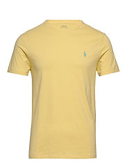 Custom Slim Crewneck T-Shirt - EMPIRE YELLOW/C61