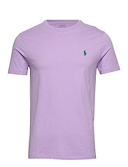 Custom Slim Crewneck T-Shirt - ENGLISH LAVENDER/