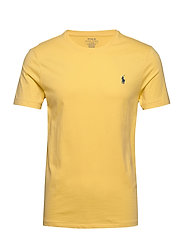 Custom Slim Crewneck T-Shirt - FALL YELLOW/C7563