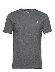 Custom Slim Crewneck T-Shirt - FORTRESS GREY HEA