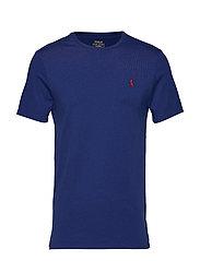 Custom Slim Fit Cotton T-Shirt - HOLIDAY SAPPHIRE