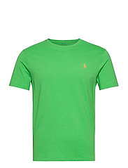 Custom Slim Crewneck T-Shirt - NEON GREEN/C121ZR
