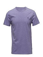 Custom Slim Fit Cotton T-Shirt - NEW LILAC HEATHER