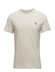 Custom Slim Fit Cotton T-Shirt - NEW SAND HEATHER