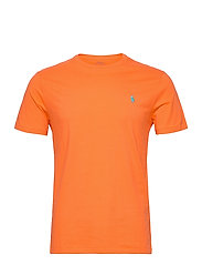 Custom Slim Crewneck T-Shirt - ORANGE FLASH/C41A