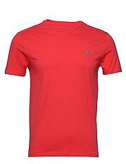 Custom Slim Crewneck T-Shirt - RACING RED/C6934