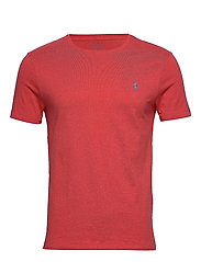 Custom Slim Crewneck T-Shirt - ROSETTE HEATHER/C