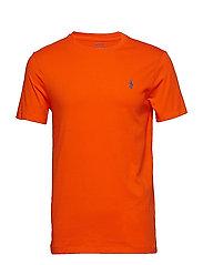 Custom Slim Fit Cotton T-Shirt - SAILING ORANGE