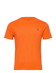 Custom Slim Crewneck T-Shirt - SOUTHERN ORANGE/C