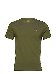 Custom Slim Crewneck T-Shirt - SUPPLY OLIVE