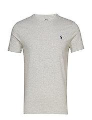 Custom Slim Fit Cotton T-Shirt - TAYLOR HEATHER
