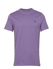 Custom Slim Crewneck T-Shirt - WISTERIA/C7357