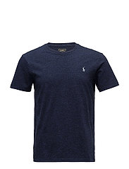 Custom Slim Fit Cotton T-Shirt - WORTH NAVY HEATHE