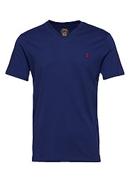 Custom Slim Fit V-Neck T-Shirt - HOLIDAY SAPPHIRE