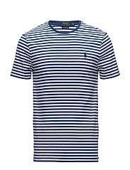 Custom Slim Fit T-Shirt - ANNAPOLIS BLUE/WHITE