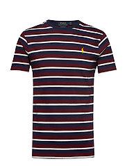 Custom Slim Fit T-Shirt - CLASSIC WINE MULT