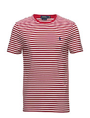 Custom Slim Fit T-Shirt - POLO SPORT RED/WHITE