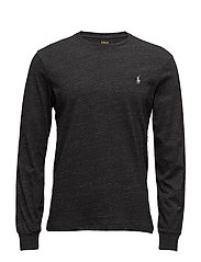 LSCNCMSLM5-LONG SLEEVE-T-SHIRT - BLACK MARL HEATHE