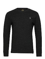 Custom Slim Fit T-Shirt - BLACK MARL HEATHE