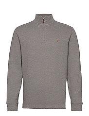 Estate-Rib Cotton Pullover - METALLIC GREY HEA