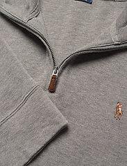 Polo Ralph Lauren - Estate-Rib Cotton Pullover - half zip jumpers - metallic grey hea - 3