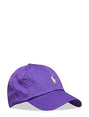 Cotton Chino Baseball Cap - CABANA PURPLE