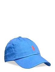 Cotton Chino Baseball Cap - COLBY BLUE