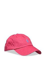 Cotton Chino Baseball Cap - NANTUCKET RED