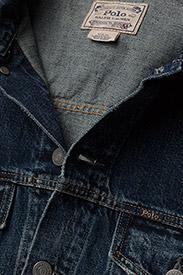 Polo Ralph Lauren - Faded Denim Trucker Jacket - denim jackets - trenton - 3