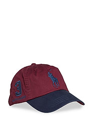 Cotton Chino Baseball Cap - CLASSIC WINE