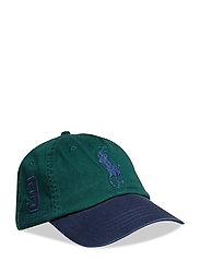Cotton Chino Baseball Cap - COLLEGE GREEN