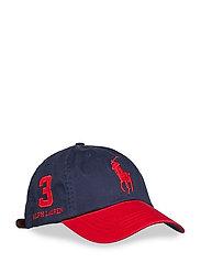 Cotton Chino Baseball Cap - NEWPORT NAVY/ RL2
