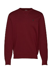 Double-Knit Sweatshirt - CLASSIC WINE