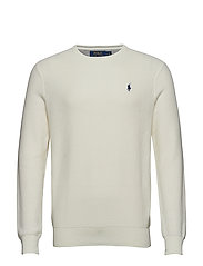 Cotton Crewneck Sweater - WARM WHITE