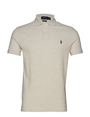Custom Slim Fit Mesh Polo - AMERICAN HEATHER
