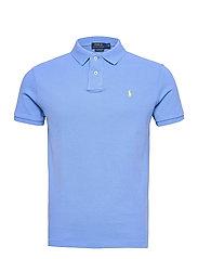 Custom Slim Fit Mesh Polo - CABANA BLUE/C1229