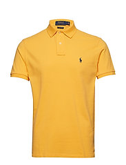 Custom Slim Fit Mesh Polo - CHROME YELLOW