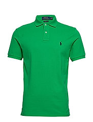 Custom Slim Fit Mesh Polo - GOLF GREEN/C7587