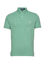 Custom Slim Fit Mesh Polo - HAVEN GREEN/C1382