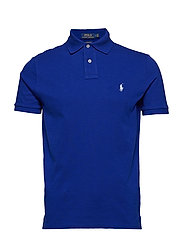 Custom Slim Fit Mesh Polo - HERITAGE ROYAL