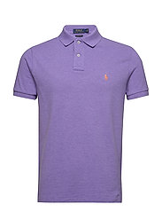 Custom Slim Fit Mesh Polo - MAIDSTONE PURPLE