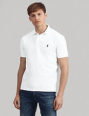 Polo Ralph Lauren - Custom Slim Fit Mesh Polo - short-sleeved polos - nevis - 0