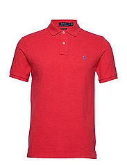 Custom Slim Fit Mesh Polo - ROSETTE HEATHER/C